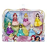 Disney Princesses – Pack de 6 mini-poupees Princesses Disney Royal Clips - 8 cm