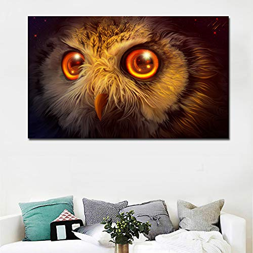 GJQFJBS Hd Landschaftsölgemälde Gedruckt Auf Leinwand Sonnenaufgang Bunten Himmel Und Boot Bild Wandkunst A5 50x70 cm
