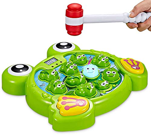 Think Gizmos Interactive Whack A Frog TG702 - Fun Gift for...