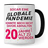 """Tazza per 30° compleanno, con scritta in lingua inglese """"30 years Old Days"""", tazza da tè e caffè, 1991, stile vintage, per compleanno 2021, 20 anni, colore: rosa"""