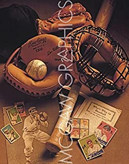 "Baseball I (Nostalgia Collection) by Michael Harrison, Art Print Poster 11"" x 14"""