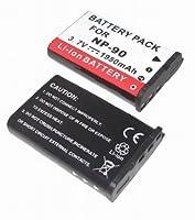 【バッテリー 単品】 CASIO NP-90 互換 バッテリー EXILIM EX-H20G EX-H20G EX-H10 EX-H15 対応