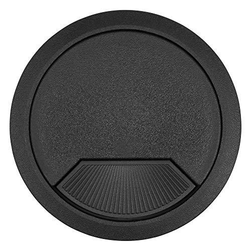 Trend Kabelkanal Einsatz (3 aus) 80mm Durchmesser schwarz