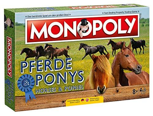 Winning Moves Monopoly Pferde und Ponys Edition Gesellschaftsspiel Brettspiel Spiel
