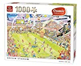 King KNG05546 Fußball-Puzzle div.