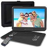 WONNIE Lecteur DVD Portable 15.5 Pouces, avec écran orientable sur 270 degrés,...