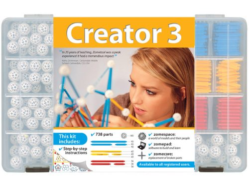 Zometool Creator 3 Construction Kit