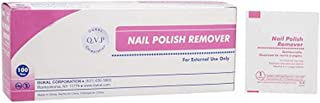 Nail Polish Remover Pads. Pack of 100 Acetone Free Remover wipes. 2-ply material. Effective & Easy to Use. Latex-free. Individually packaged.