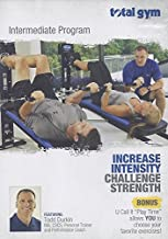 Total Gym Intermediate Workout DVD Increase Intensity Challenge Strength