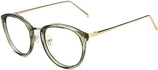 9e72b9b68e TIJN Vintage Round Metal Optical Eyewear Non-prescription Eyeglasses Frame  for Women