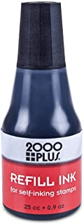 2000 PLUS Ink Refill for Self-Inking Stamps and Stamp Pads, Black, 0.9oz (032962)