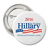 Hillary Clinton for President 2016 Campaign Button - 2'