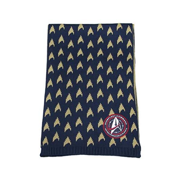 Star Trek Discovery: Starfleet Academy Insignia Scarf – Official Clothing Uniform Command Merchandise