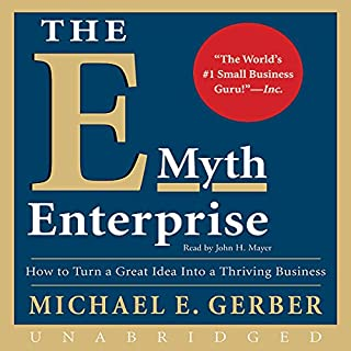 The E-Myth Enterprise audiobook cover art