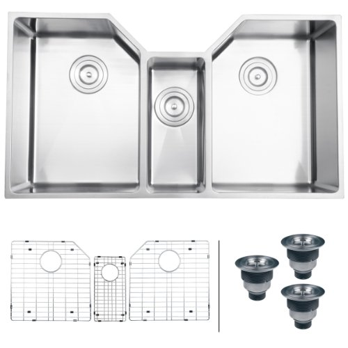 Triple Bowl Kitchen Sinks