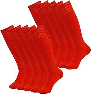 Vive Bears Calcetines de fútbol unisex rodilla para deportes de tubo largo 2/6/10 unidades