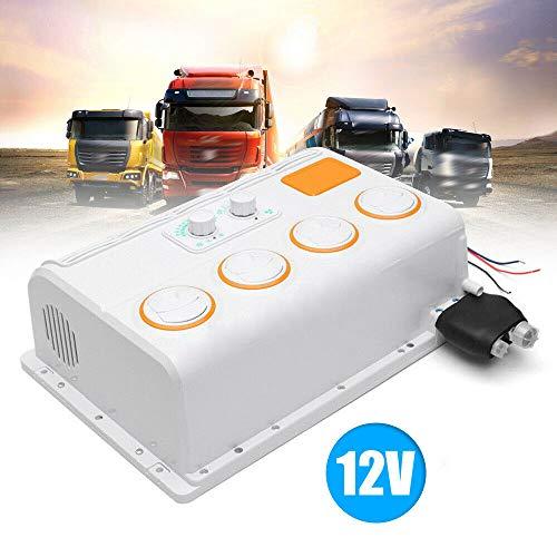 DIFU - Aire acondicionado para coche, refrigerador de aire, portátil, para camiones, caravanas, excavadoras (12 V)