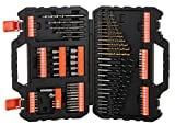 BLACK+DECKER A7200-XJ Coffret de perçage et vissage-109 pièces