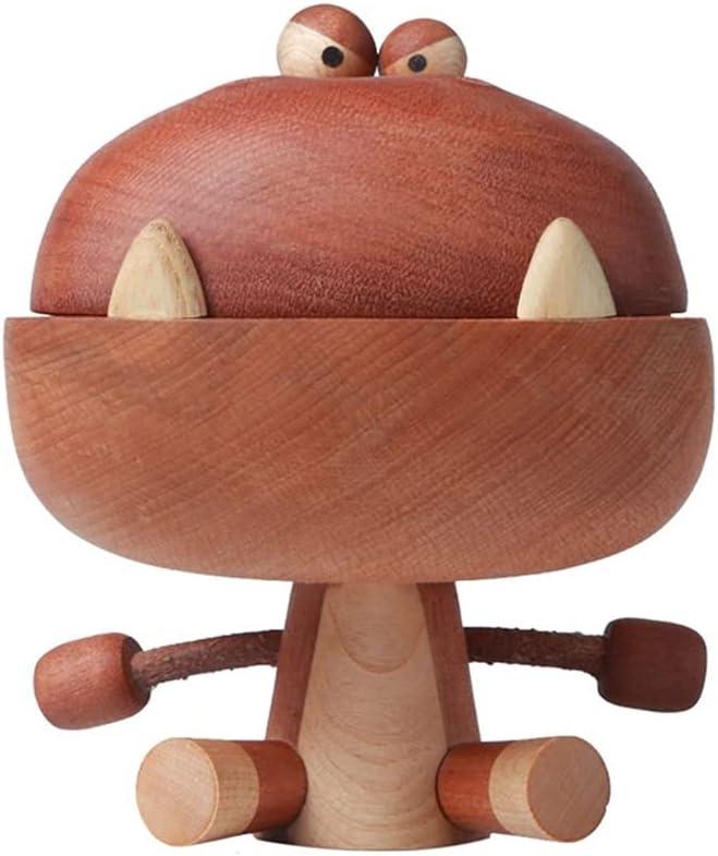YUBIN Ceramic Incense Burner Wooden Incense Burner, Big Mouth Dr