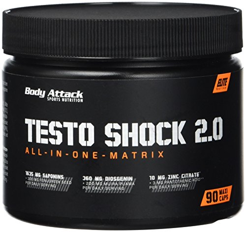 Body Attack Testo Shock 2.0, 1er Pack (1 x 96 g)