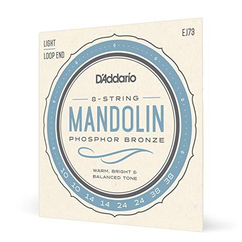 D Addario EJ73 Phosphor Bronze Set per Mandolino, Tensione Bassa, 10-38
