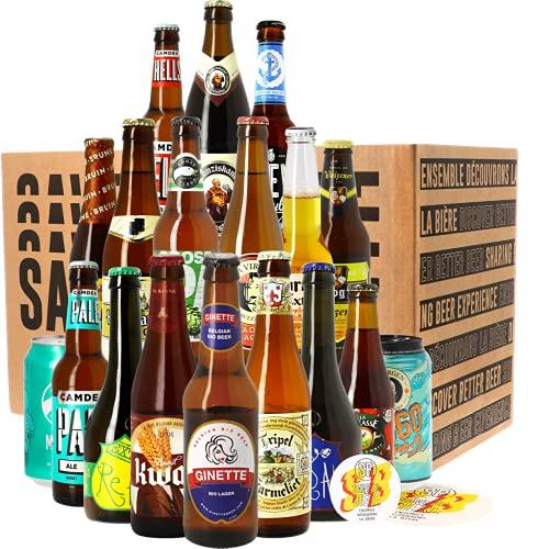 Assortiment les 18 Bières Meilleures Ventes - Idée cadeau