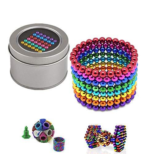Pachock 8 Colores Bolas de Rompecabezas mágico Bola Descompresión Desarrollo Inteligente Juguetes Regalo Ideales para niños y Adultos