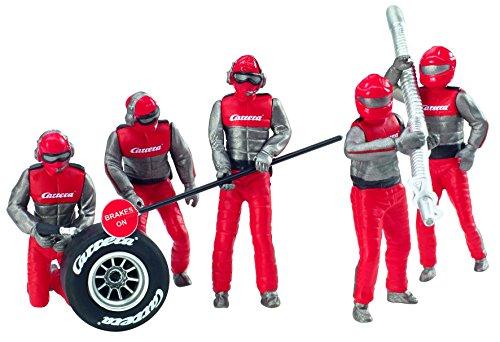 Carrera Figurensatz Mechaniker, Crew Rot