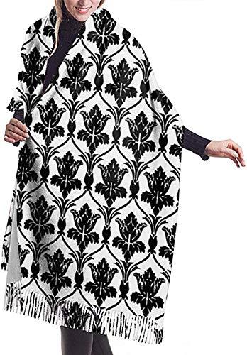 PINGZIJIA Schal wickeln Decke SchalSherlock Wallpaper Frauen weichen Kaschmir-Schal große Pashminas Schal Decke 77 x 27