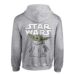 Star Wars The Mandalorian El Bosquejo del niño Hombres Sudadera con Capucha suéter, mercancía Oficial 8