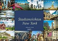 Stadtansichten New York (Wandkalender 2022 DIN A4 quer): Momentaufnahmen aus der Stadt der Staedte, New York (Monatskalender, 14 Seiten )