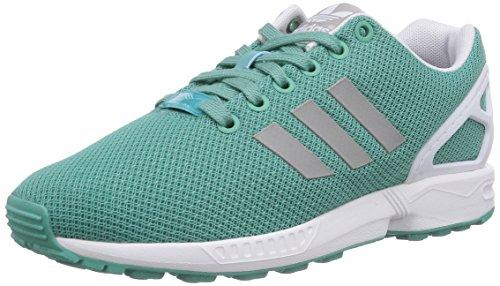 adidas Originals ZX Flux B34059, Damen Low-Top Sneaker, Grün (St Fade Ocean S14/Mgh Solid Grey/Ftwr White), EU 38 2/3