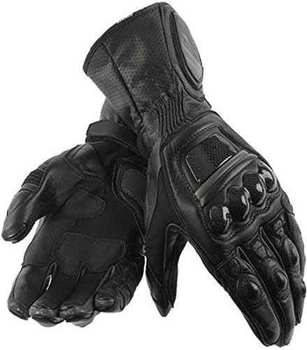 Juicy Trendz Heavy Duty moto de la motocicleta guantes de cuero piel de vaca Coleccion impermeable