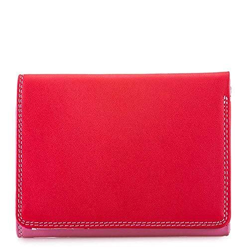 portafoglio donna in pelle -MYWALIT - medium tri-fold wallet - 106-57 - ruby