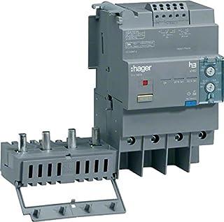 Hager x160 - Bloque diferencial para x160 4 polos 125a regulable montaje lateral