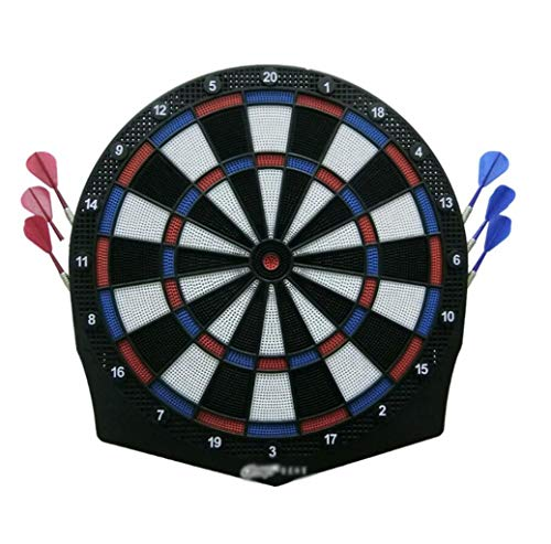 Soft Dart Soft Dart Board Set, Safety Dart Training, Professional Large Target Safety zacht plastic Dart Head, Geschiktheid puzzel, Binnenlandse Zaken Vrije tijd Sport, geschikt for ouderen en kindere