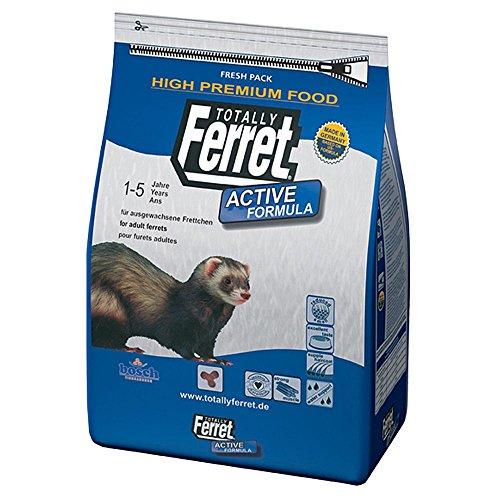 bosch Totally Ferret Active | Frettchenfutter für ausgewachsene Frettchen | Fördert die Energieausnutzung & Stärkt die Muskulatur | 7,5 kg