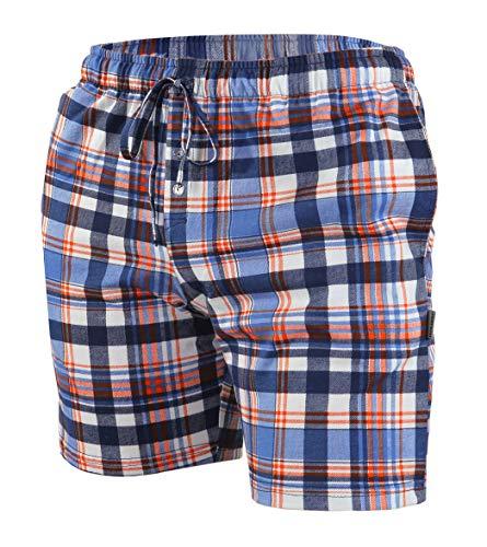 Sesto Senso Schlafanzughose Herren Kurz Baumwolle Pyjamahose 1er 2er Pack XL 2243/09