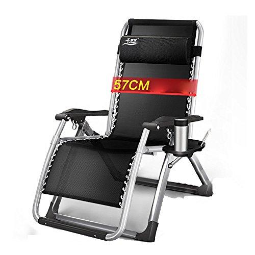 Xiaolin La Chaise inclinable élargie Pliante déjeuner Pause Chaise de Bureau Chaise de Couchage Chaise de Plage Chaise Longue (Couleur : 03)