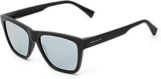 HAWKERS · Gafas de Sol ONE LS Carbon Black Chrome, para Hombre y Mujer, con montura negra con acabado engomado y lentes es...