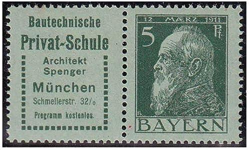 Goldhahn Bayern W 1.20 postfrisch  Briefmarken für Sammler