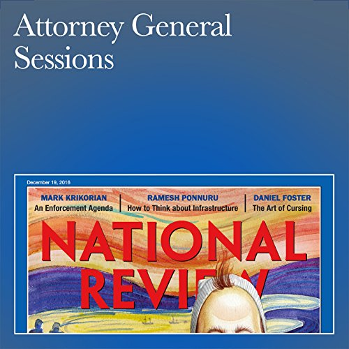 Attorney General Sessions audiobook cover art