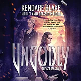 Ungodly     A Novel              Written by:                                                                                                                                 Kendare Blake                               Narrated by:                                                                                                                                 Kate Reading                      Length: 10 hrs and 15 mins     Not rated yet     Overall 0.0