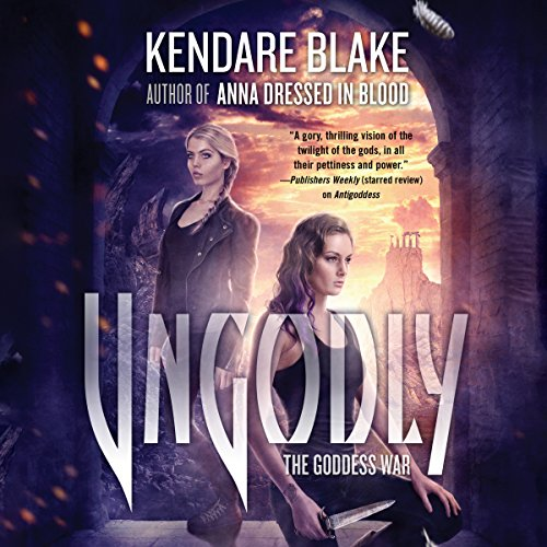 Ungodly audiobook cover art