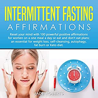 Intermittent Fasting Affirmations audiobook cover art