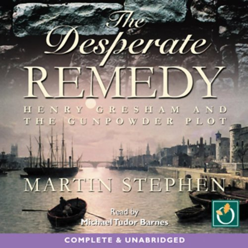 The Desperate Remedy audiobook cover art