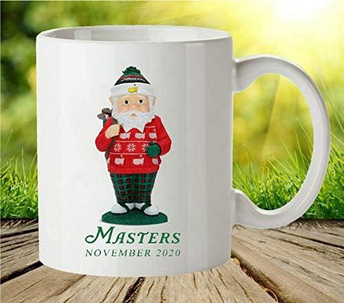 Santa Coffee Mugs White 2020 The Masters Golf Augusta National Santa Coffee Mug product image