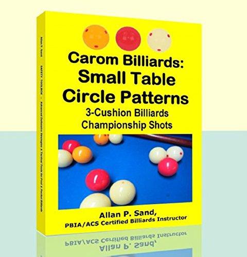 Carom Billiards: Small Table Circle Patterns: 3-Cushion Billiards Championship Shots (English Edition)