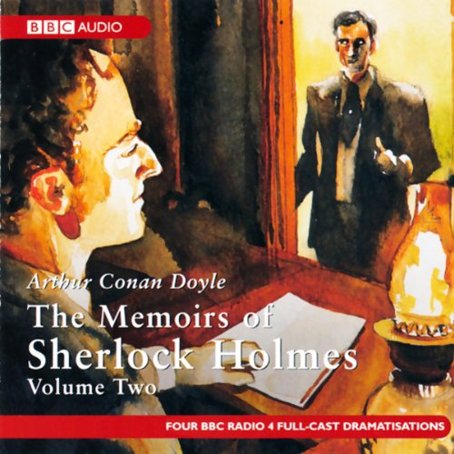 The Memoirs of Shelock Holmes audiobook cover art