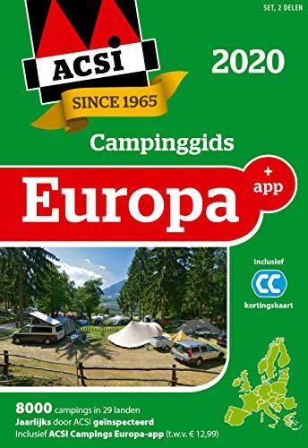 ACSI Campinggids Europa + app 2020: set 2 delen